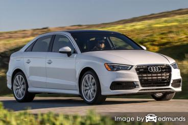 Insurance quote for Audi A3 in Arlington