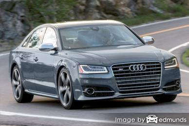 Insurance rates Audi S8 in Arlington