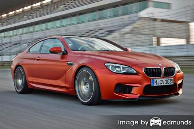 Insurance rates BMW M6 in Arlington