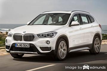 Insurance rates BMW X1 in Arlington