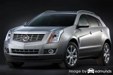 Insurance rates Cadillac SRX in Arlington