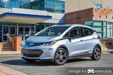 Insurance rates Chevy Bolt in Arlington
