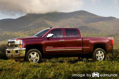 Discount Chevy Silverado 2500HD insurance