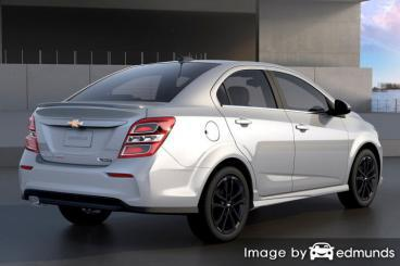 Insurance quote for Chevy Sonic in Arlington