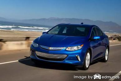 Insurance quote for Chevy Volt in Arlington