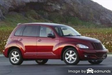 Insurance rates Chrysler PT Cruiser in Arlington