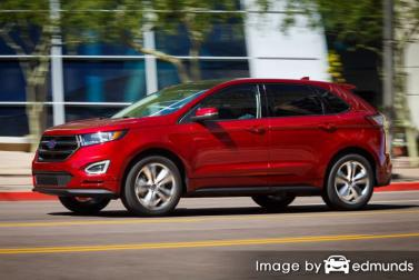 Insurance rates Ford Edge in Arlington