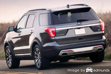 Insurance rates Ford Explorer in Arlington
