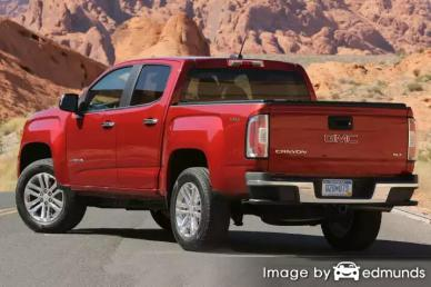 Insurance quote for GMC Canyon in Arlington