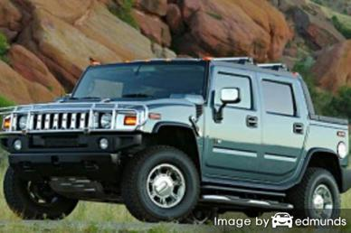 Insurance rates Hummer H2 SUT in Arlington