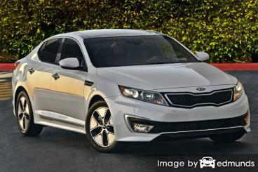 Insurance quote for Kia Optima Hybrid in Arlington