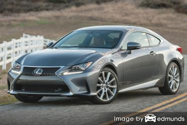 Insurance for Lexus RC 300