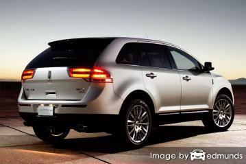 Insurance quote for Lincoln MKX in Arlington