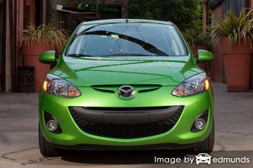 Insurance quote for Mazda 2 in Arlington