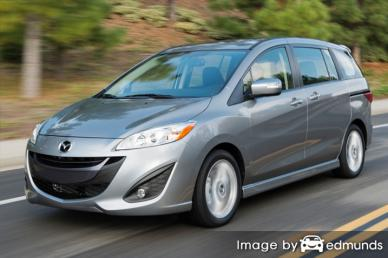 Insurance rates Mazda 5 in Arlington