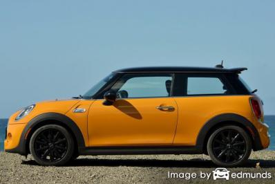 Insurance rates Mini Cooper in Arlington