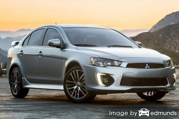 Insurance quote for Mitsubishi Lancer in Arlington