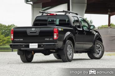 Insurance rates Nissan Frontier in Arlington