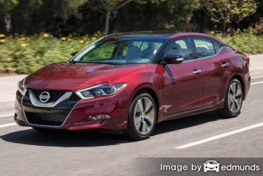 Insurance rates Nissan Maxima in Arlington
