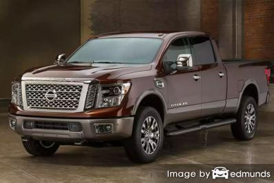 Insurance quote for Nissan Titan XD in Arlington