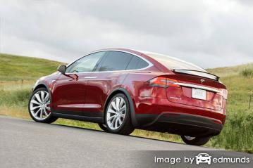Insurance rates Tesla Model X in Arlington