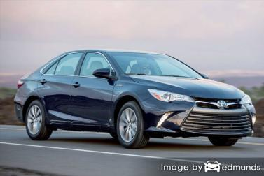 Insurance quote for Toyota Camry Hybrid in Arlington
