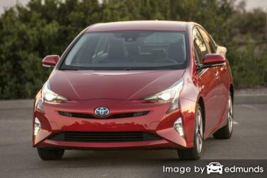 Insurance rates Toyota Prius in Arlington